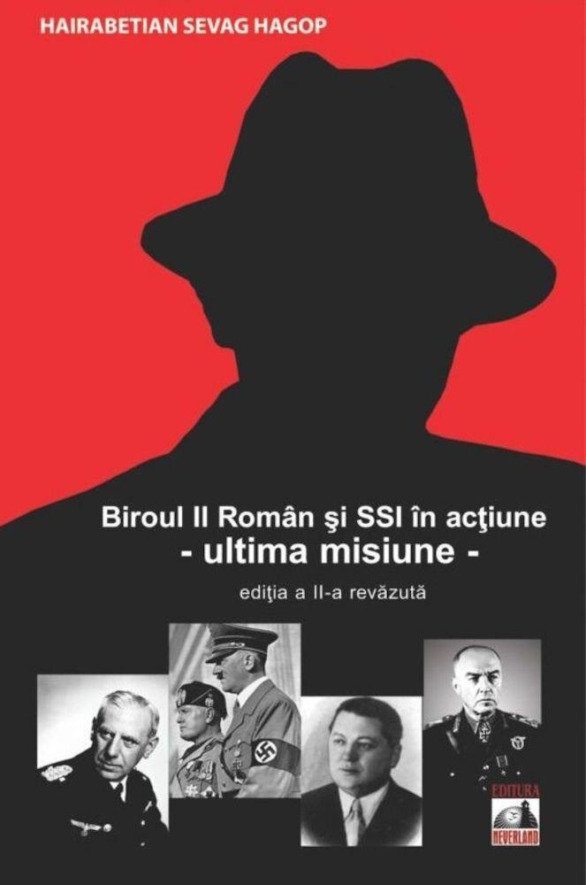 Coperta Carte Biroul II Roman si S.S.I. in actiune - Ultima misiune