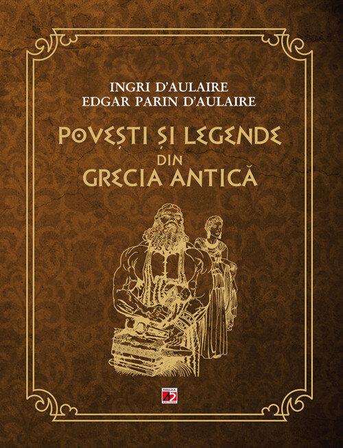 Coperta Carte Povesti si legende din Grecia Antica