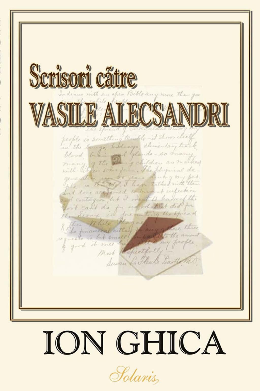 Scrisori catre Vasile Alecsandri (eBook)