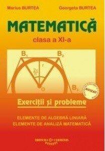 Coperta Carte Matematica. Clasa a XI-a. Exercitii si probleme