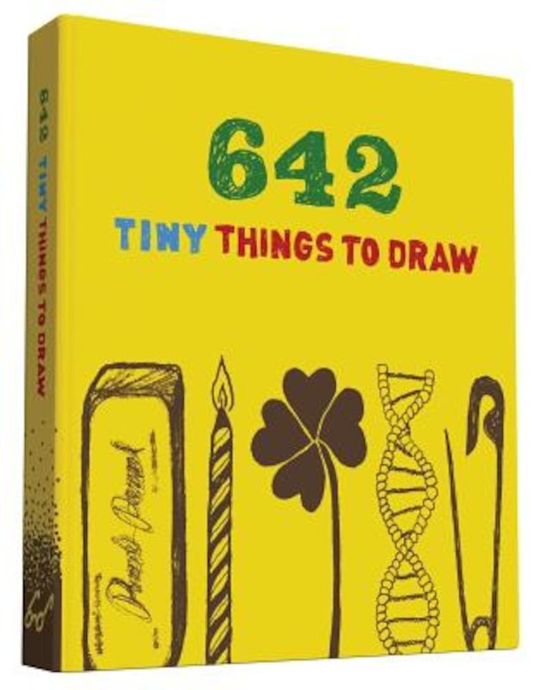 642 Tiny Things to Draw, Hardcover