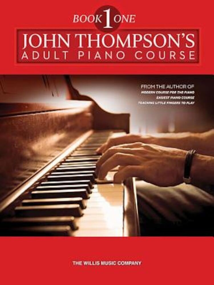The Adult Preparatory Piano Book, Book One, Paperback