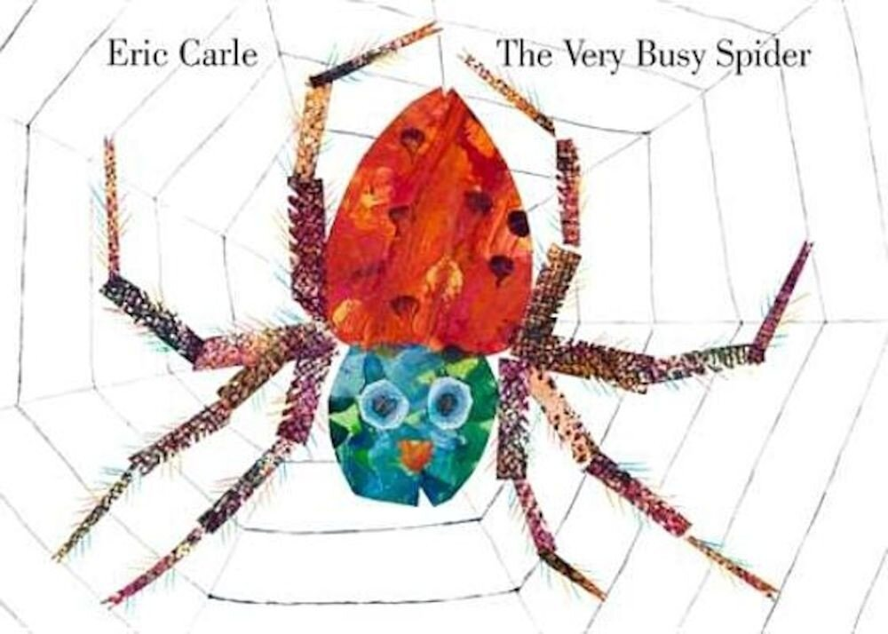 The Very Busy Spider, Hardcover