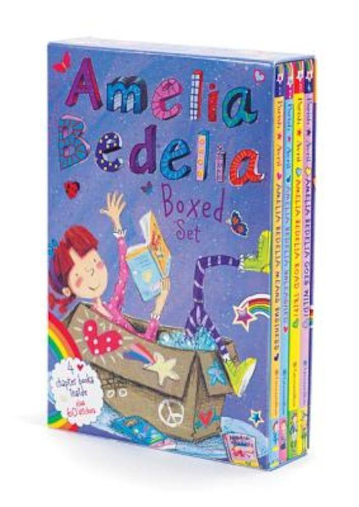 Amelia Bedelia Boxed Set: Amelia Bedelia Means Business/Amelia Bedelia Unleashed/Amelia Bedelia Road Trip!/Amelia Bedelia Goes Wild!, Paperback