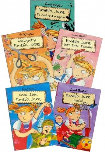 Enid Blyton Amelia Jane 5 Books Collection Pack Set