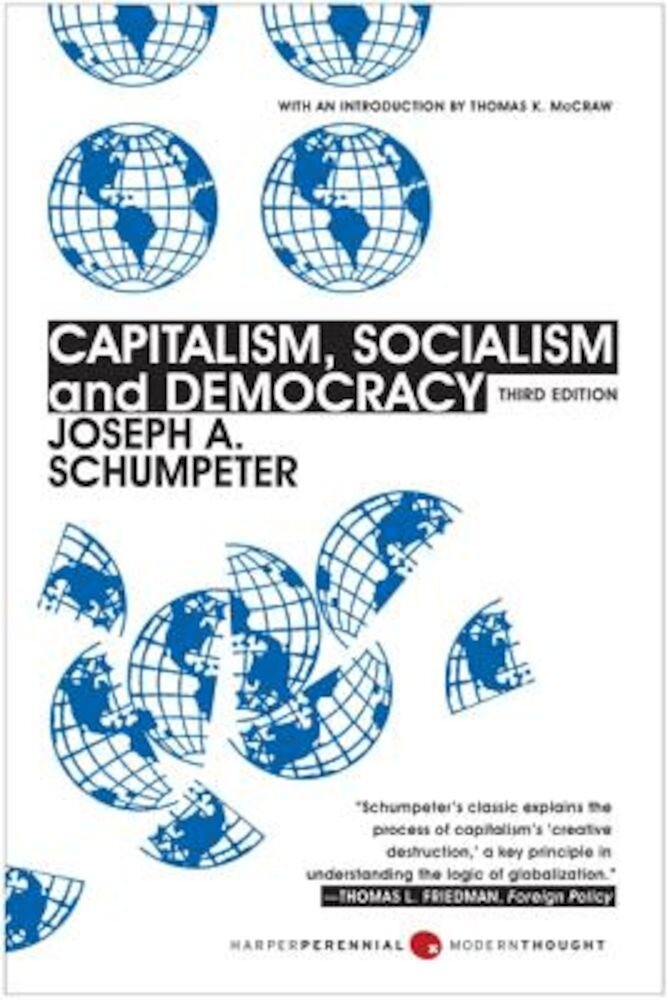 Capitalism, Socialism and Democracy, Paperback