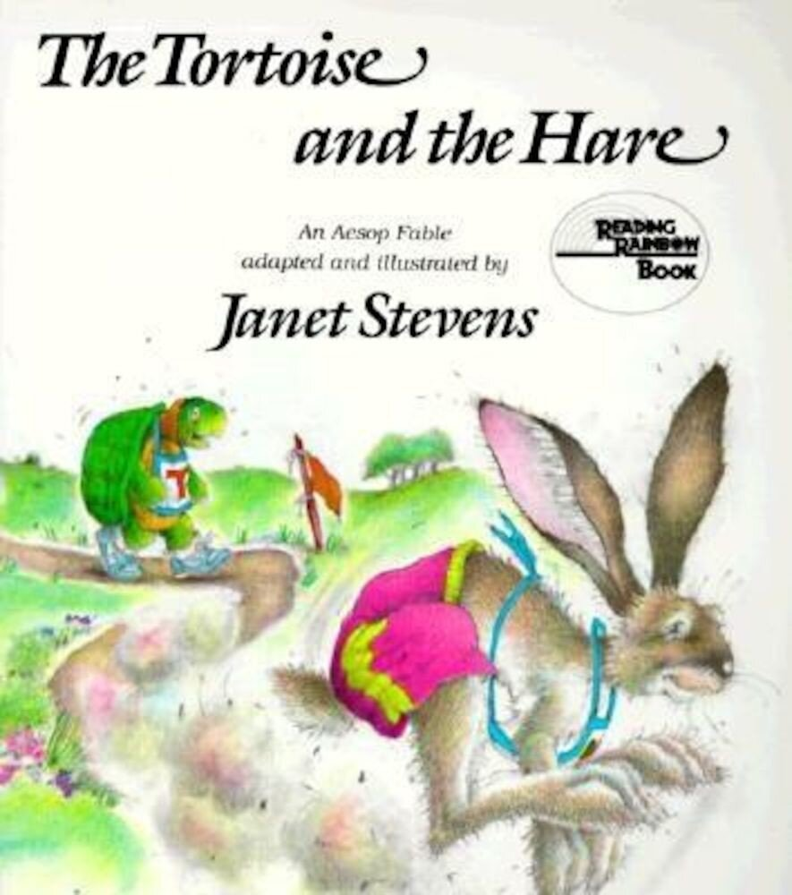 The Tortoise and the Hare: An Aesop Fable, Paperback