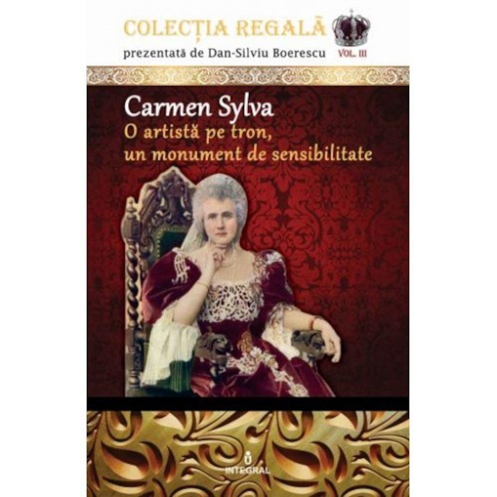 Coperta Carte Carmen Sylva o artista pe tron