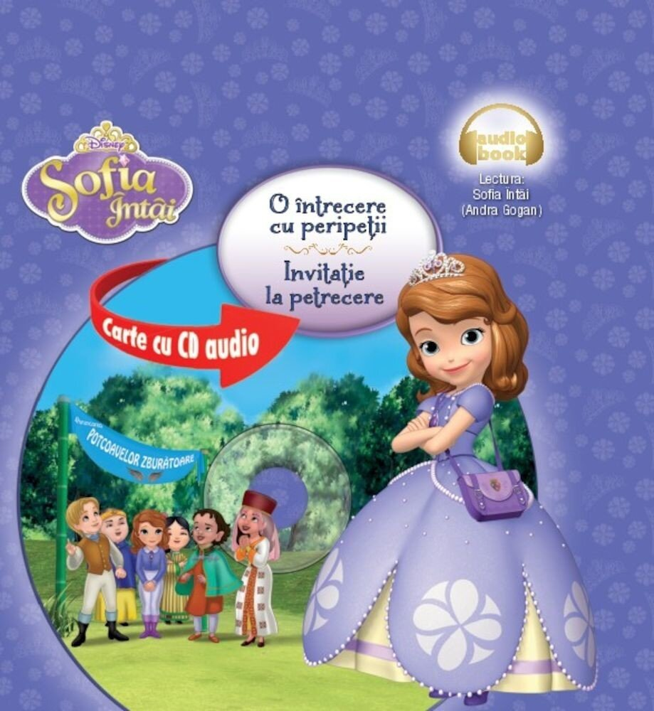 Coperta Carte Sofia Intai. O intrecere cu peripetii. Invitatie la petrecere (carte+CD)