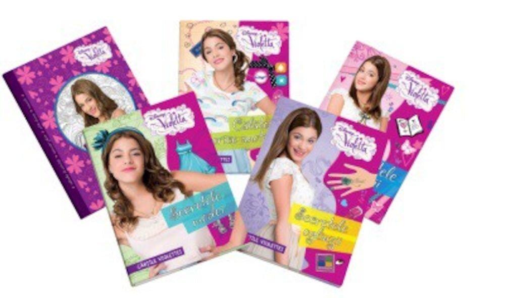 Pachet: Violetta (5 carti)