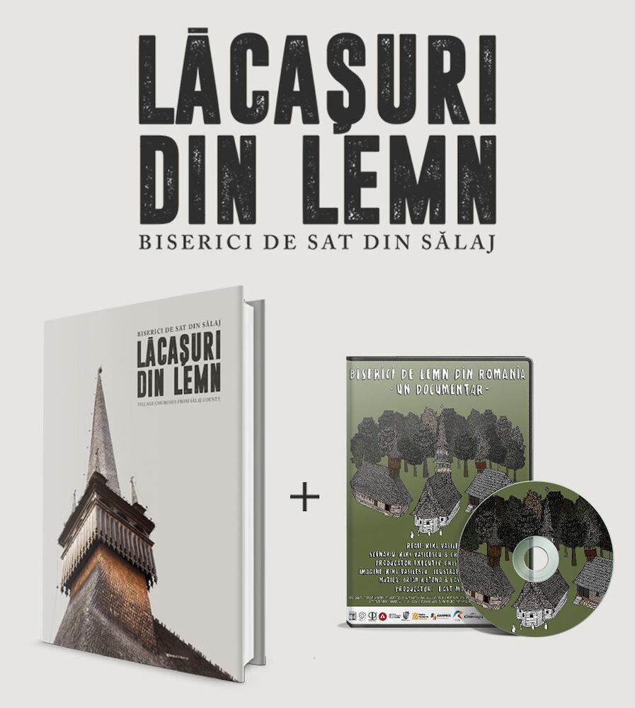 Album Lacasuri de lemn + DVD Biserici de lemn din Romania
