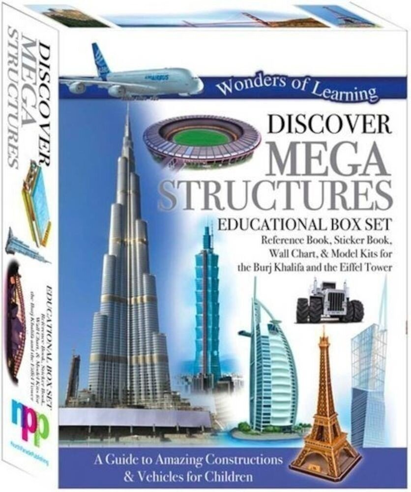 Wonders Of Learning Tin Set - Megastructures