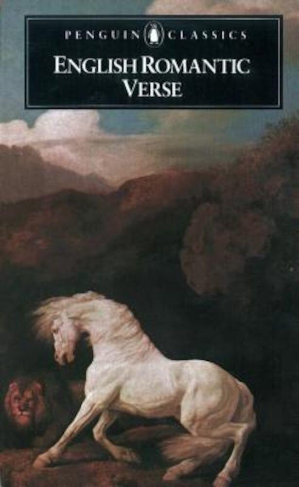 English Romantic Verse, Paperback