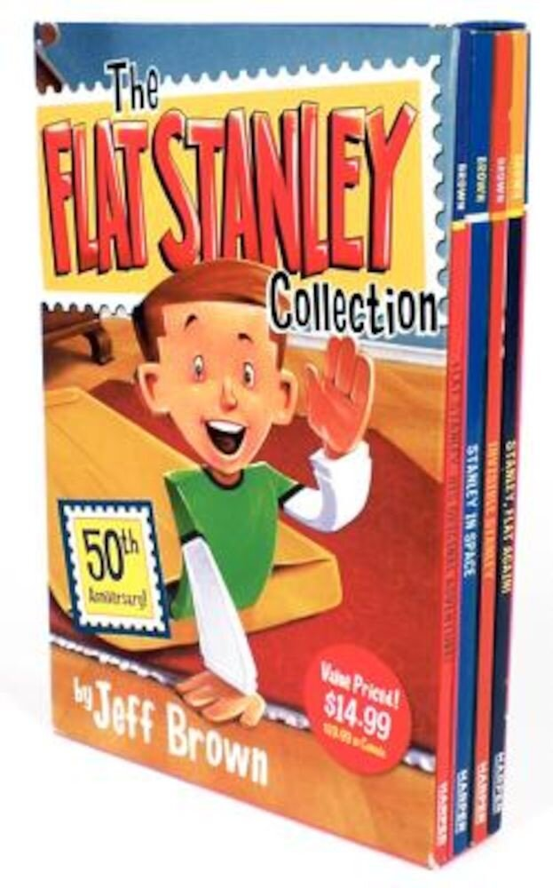 The Flat Stanley Collection: Flat Stanley/Invisible Stanley/Stanley in Space/Stanley, Flat Again!, Paperback