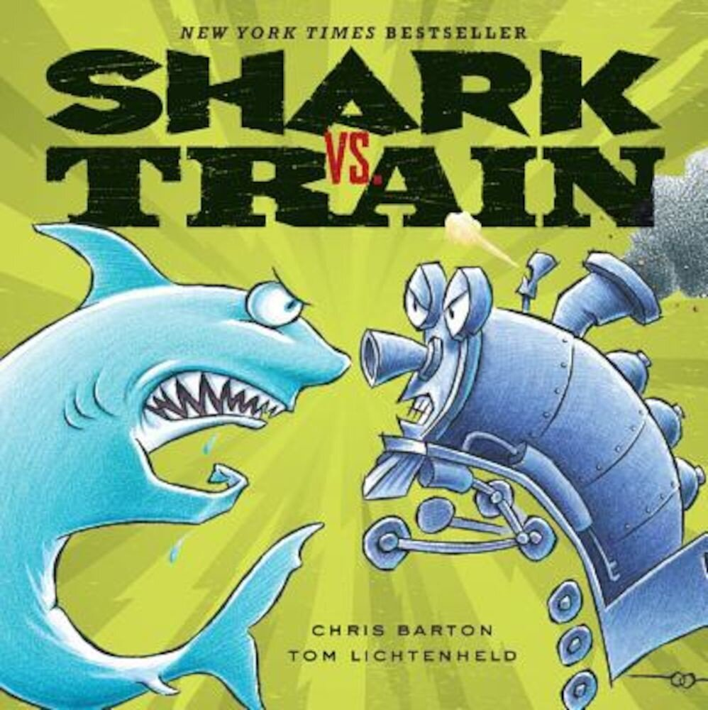 Shark vs. Train, Hardcover