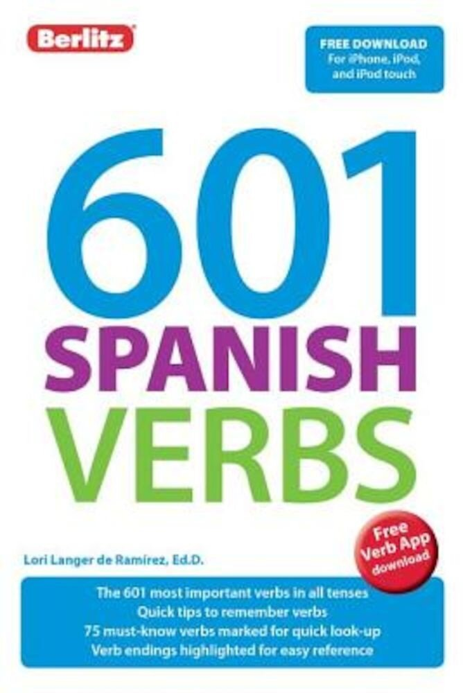 601 Spanish Verbs, Paperback