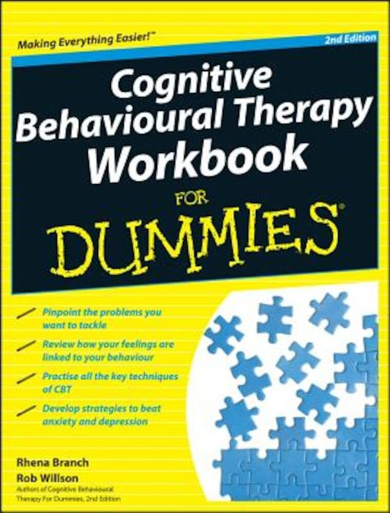Cognitive Behavioural Therapy Workbook for Dummies, Paperback