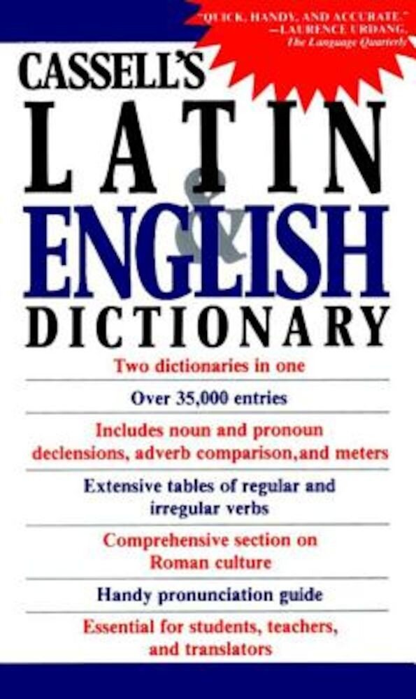 Cassell's Concise Latin and English Dictionary, Paperback