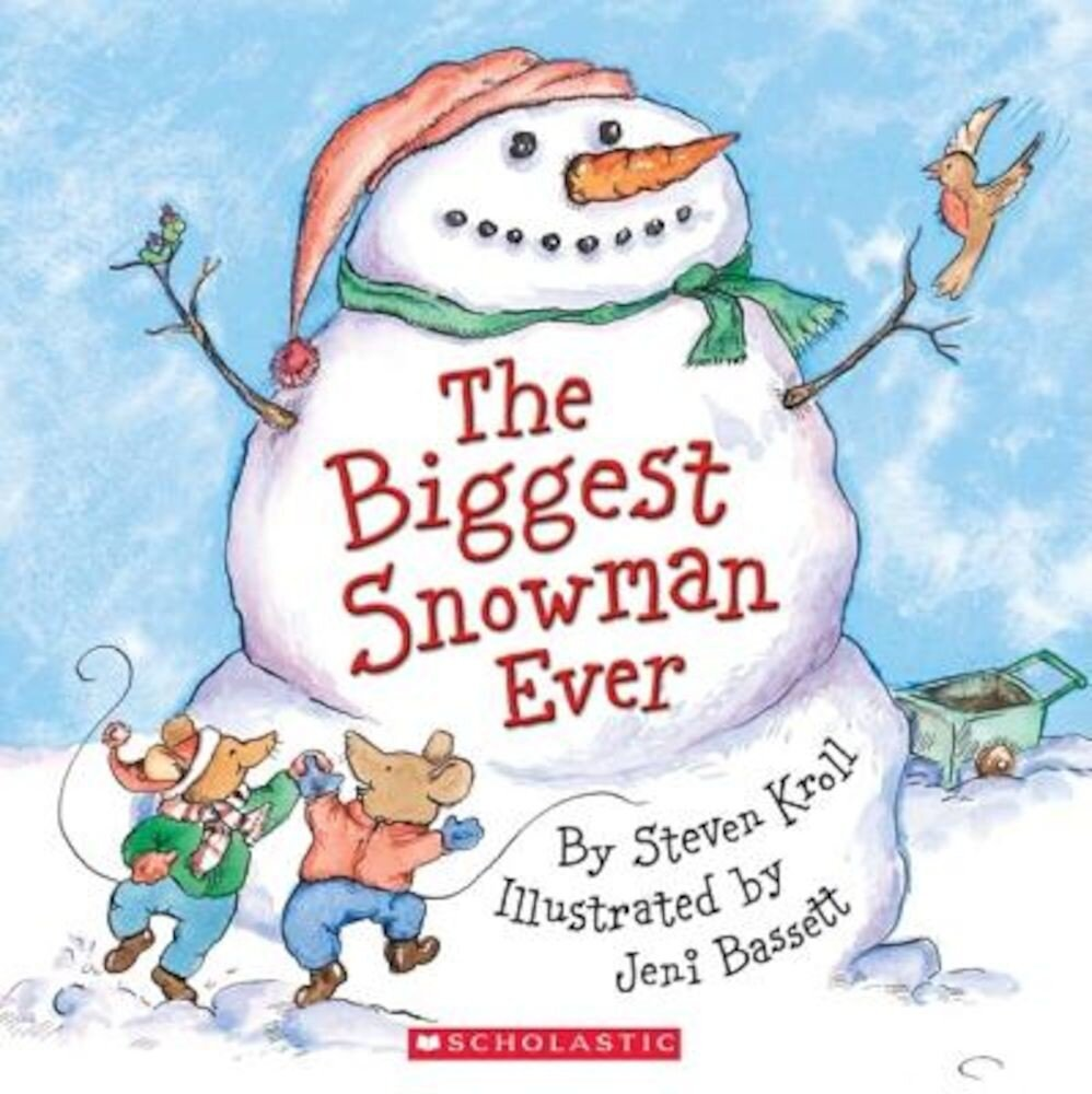 The Biggest Snowman Ever, Paperback