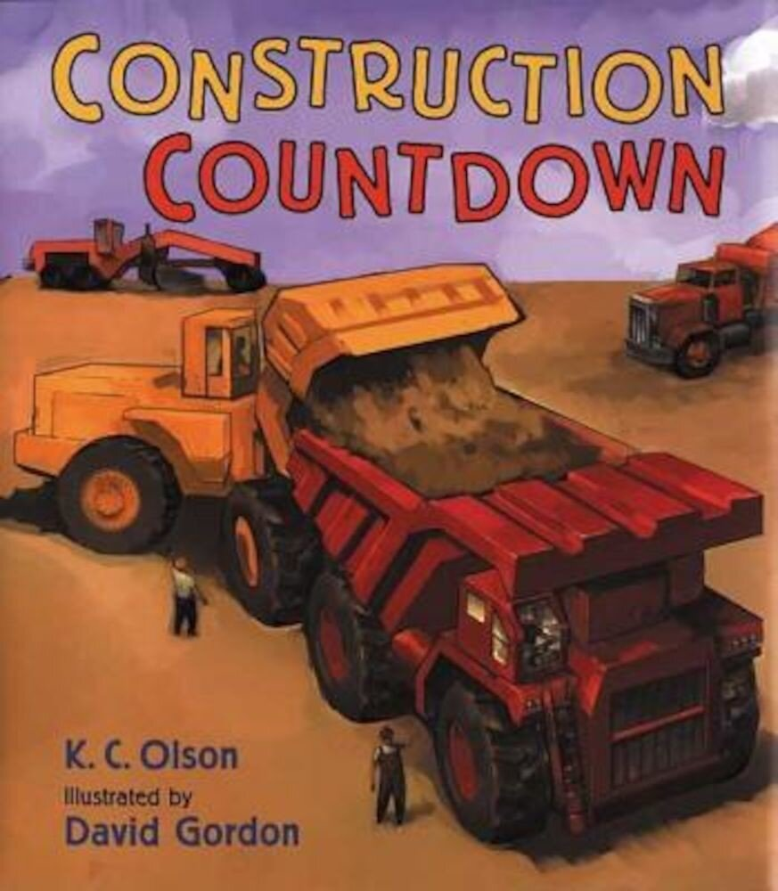 Construction Countdown, Hardcover