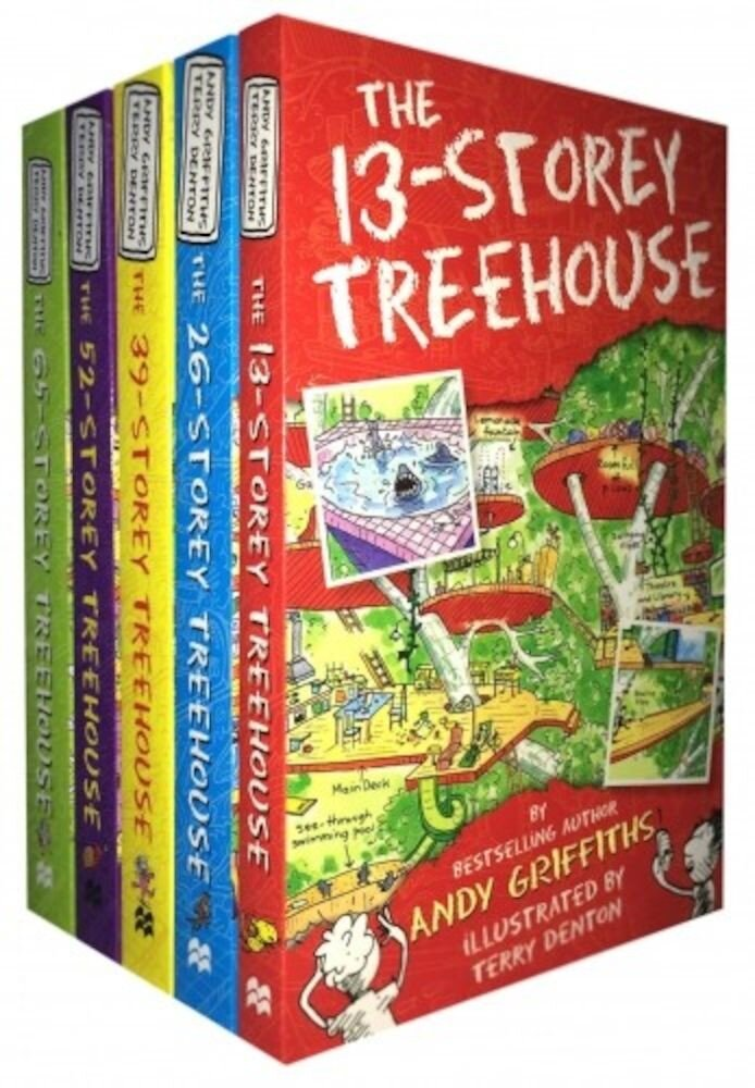 The 13-Storey Treehouse Collection
