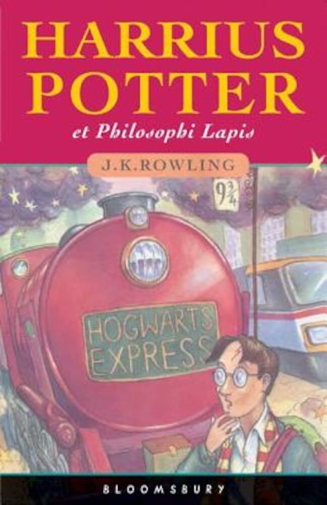 Harrius Potter Et Philosophi Lapis: (Harry Potter and the Philosopher's Stone), Hardcover