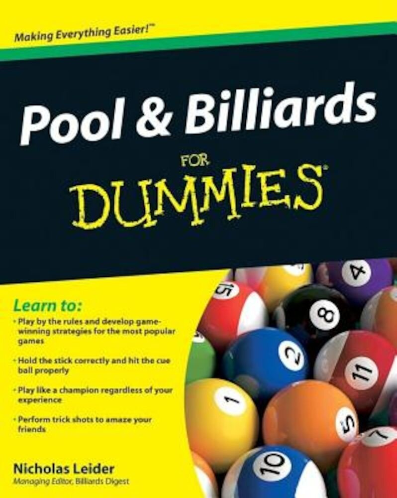 Pool & Billiards for Dummies, Paperback