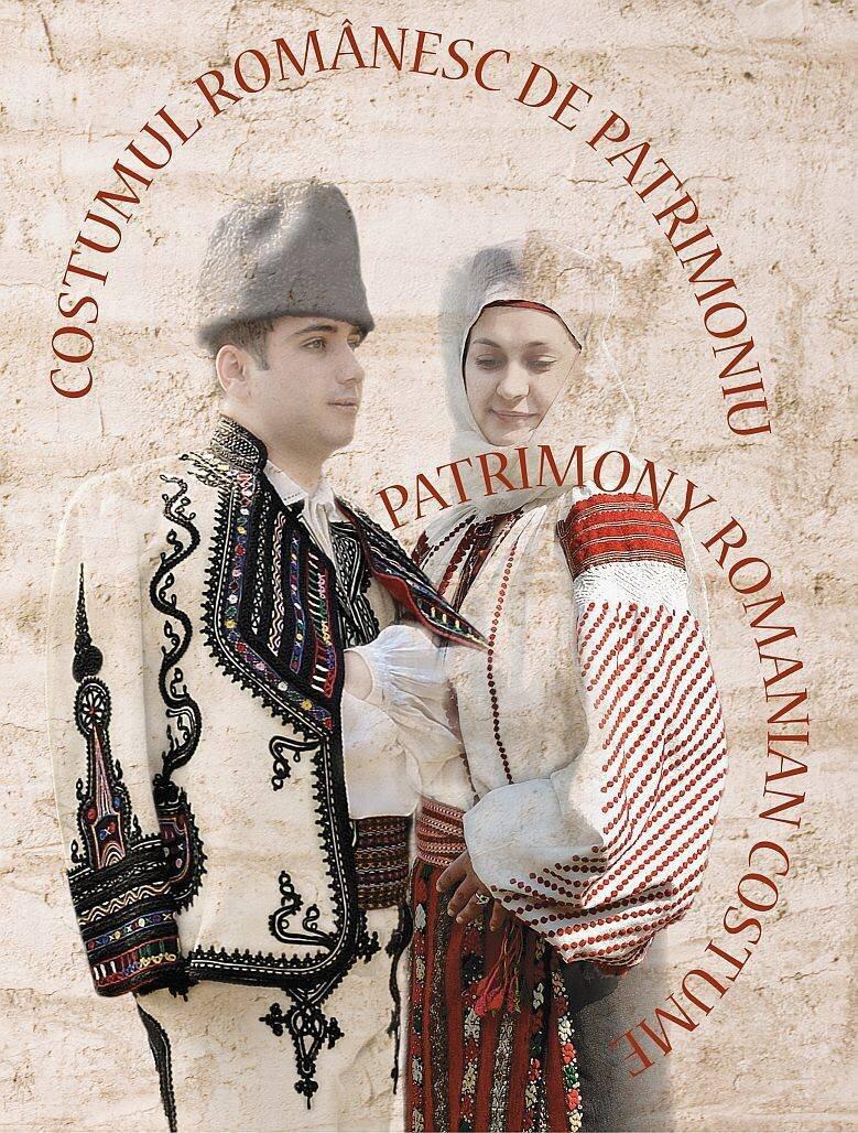 Costumul romanesc de patrimoniu; Romanian Patrimony Costume (eBook)