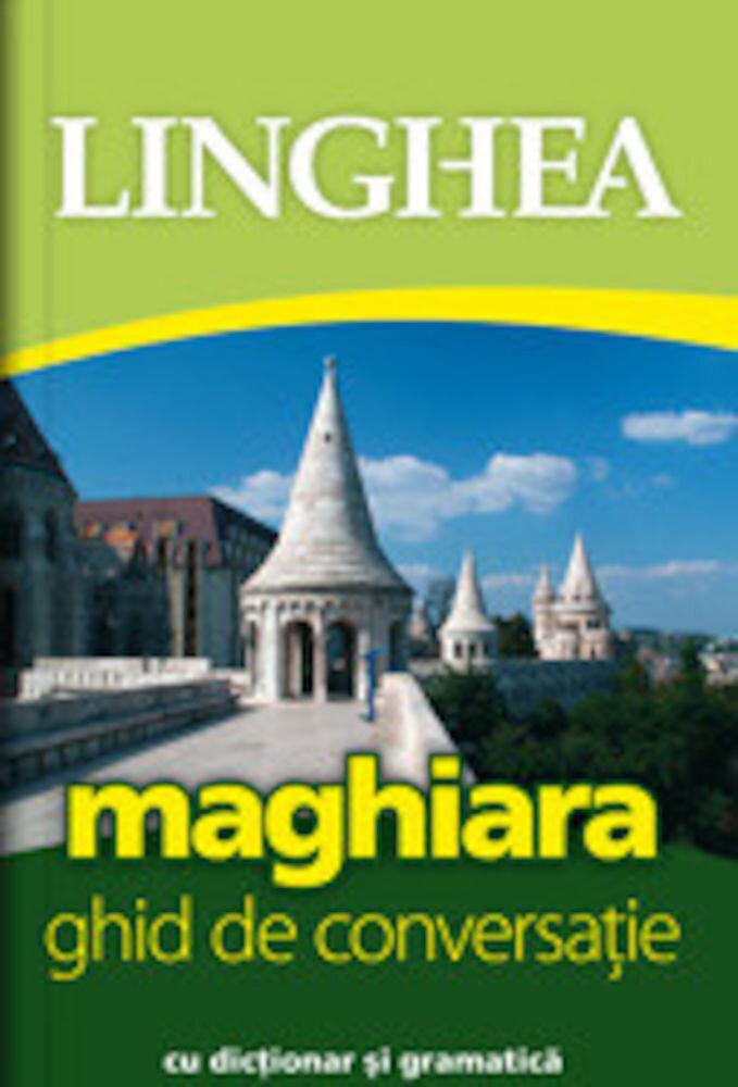 Coperta Carte Maghiara. Ghid de conversatie. Editia a II-a