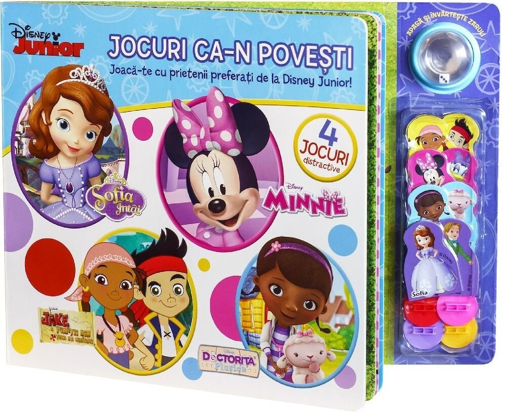 Jocuri ca-n povesti. Joaca-te cu prietenii preferati de la Disney Junior!