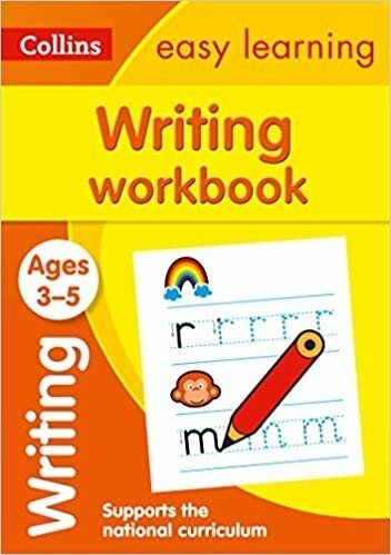 Collins Easy Learning Preschool ? Writing Workbook Ages 3-5: New Edition