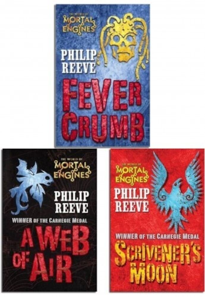 Phillip Reeve Mortal Engines 3 Books Collection Pack