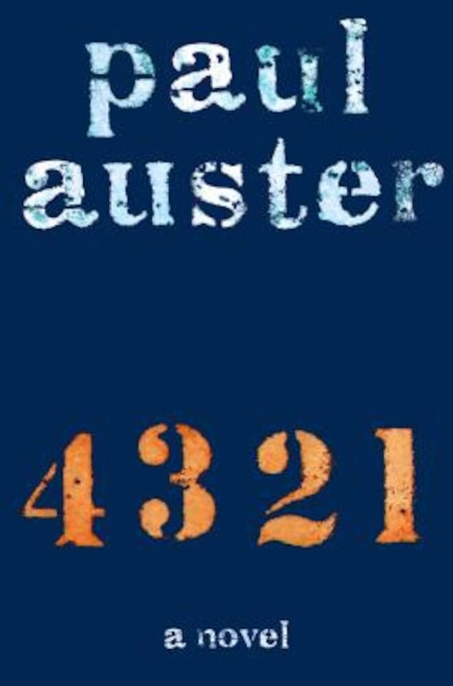 4 3 2 1, Hardcover