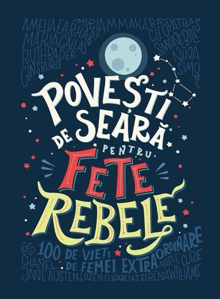 Coperta Carte Povesti de seara pentru fete rebele