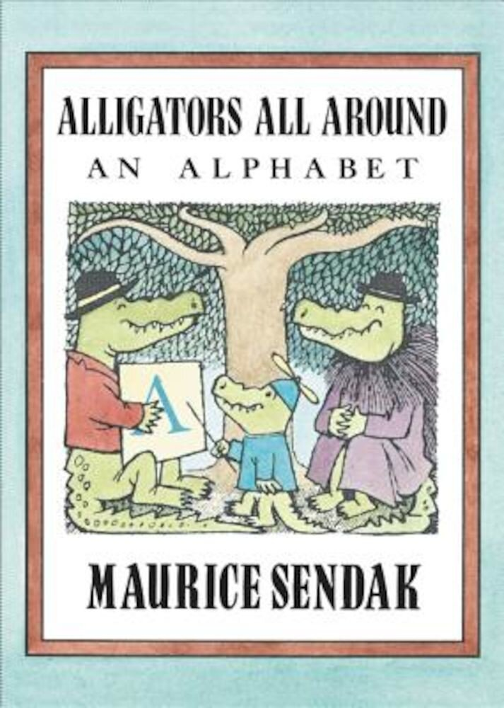 Alligators All Around Board Book: An Alphabet, Hardcover