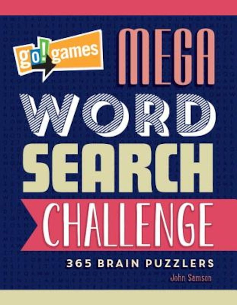 Go!Games Mega Word Search Challenge, Paperback