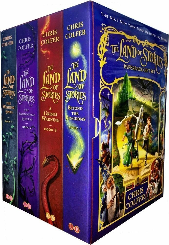 Land of Stories Collection 4 Books Box Set
