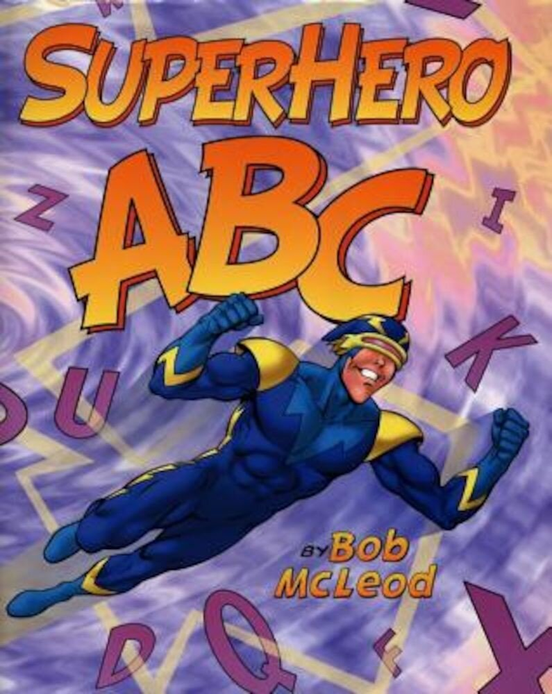 Superhero ABC, Hardcover