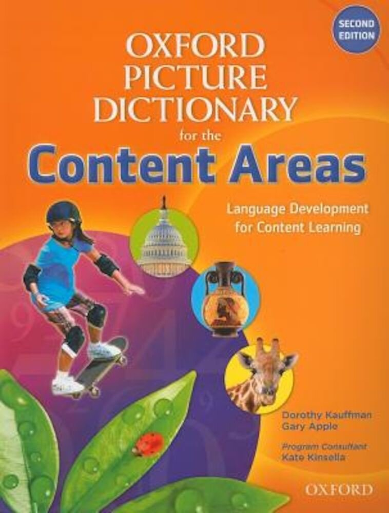 Oxford Picture Dictionary for the Content Areas, Paperback