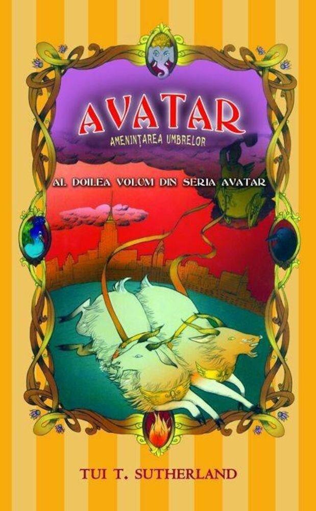 Coperta Carte Avatar, Vol. 2