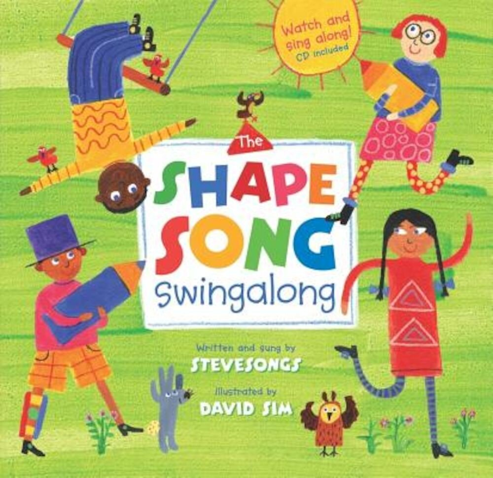 The Shape Song Swingalong [With CD (Audio)], Paperback