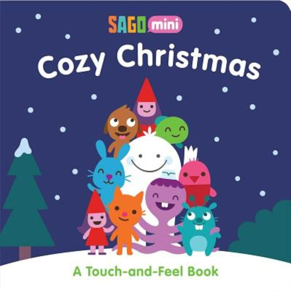 Cozy Christmas: A Touch-And-Feel Book, Hardcover