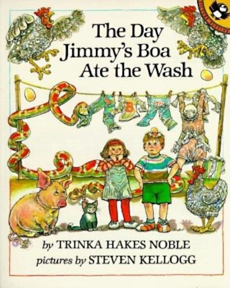 The Day Jimmy's Boa Ate the Wash, Paperback