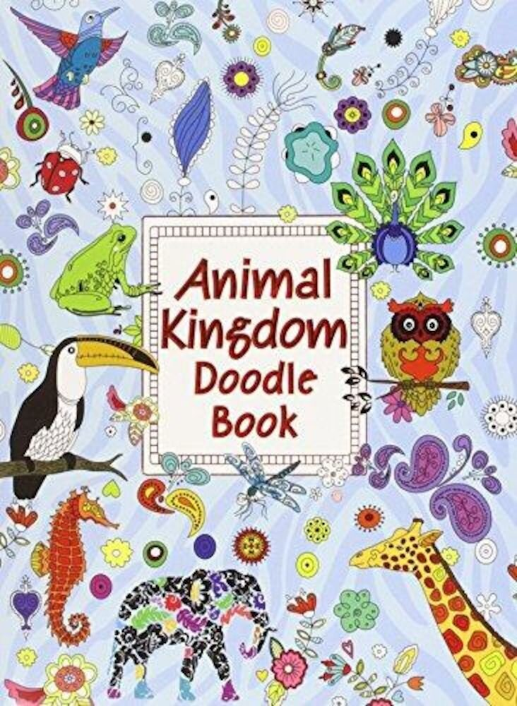 A4 Doodle Book - Animal Kingdom, Fashion, World, Ultimate Doodle (Ctn Qty 48)