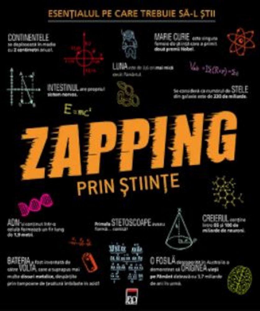 Coperta Carte Zapping prin stiinte