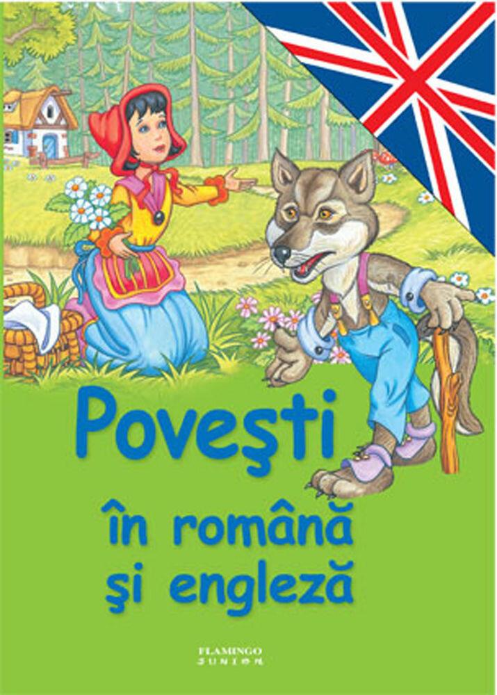 Coperta Carte Povesti in romana si engleza