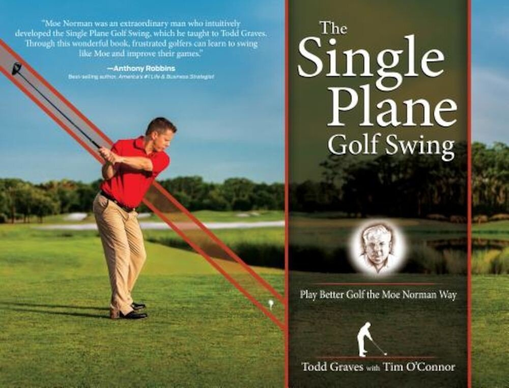 The Single Plane Golf Swing: Play Better Golf the Moe Norman Way, Hardcover