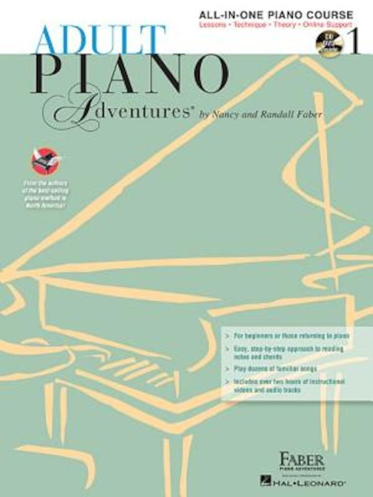 Adult Piano Adventures All-In-One Lesson Book 1: A Comprehensive Piano Course [With 2 CDs], Paperback