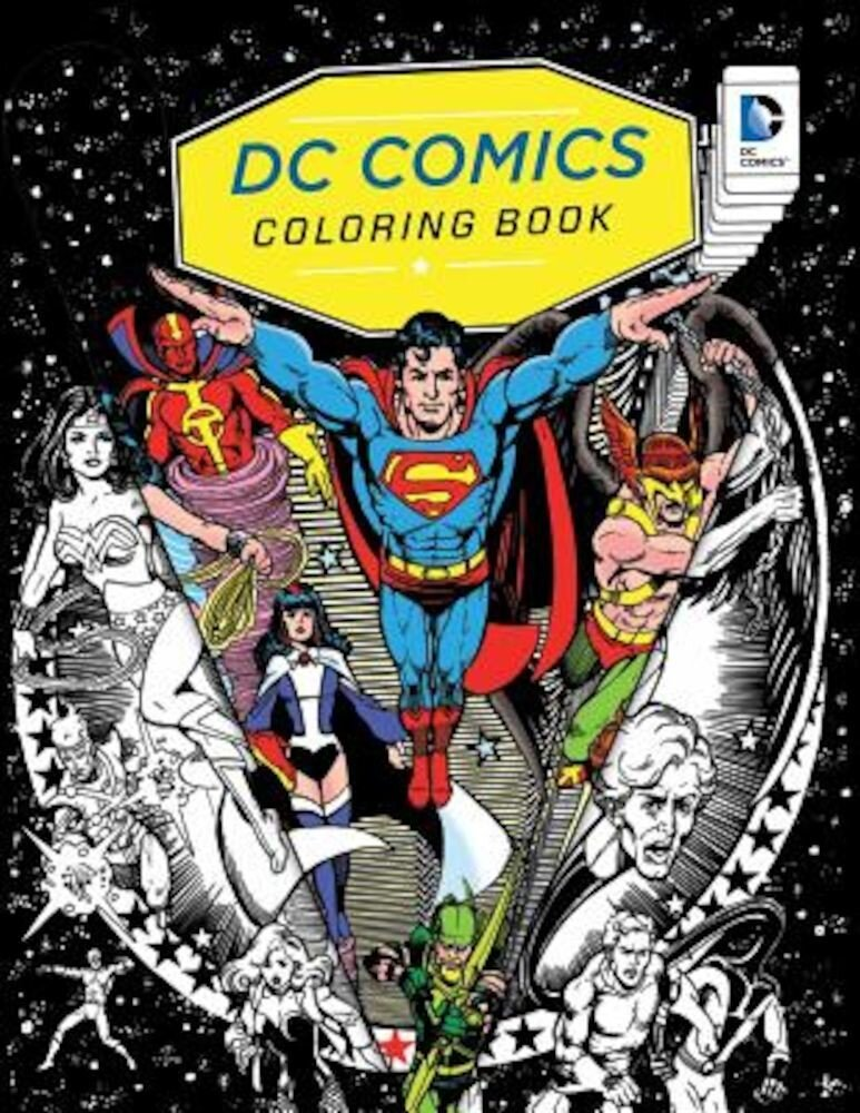 DC Comics Coloring Book, Paperback