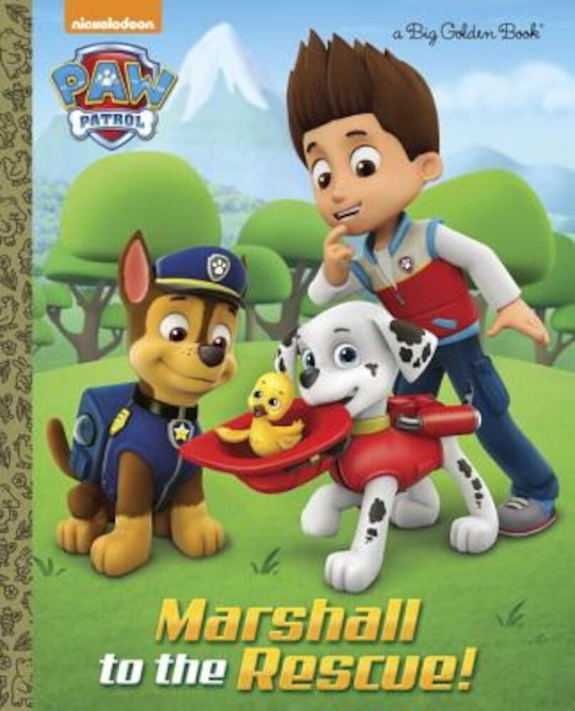 Marshall to the Rescue! (Paw Patrol), Hardcover